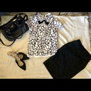 Karl Lagerfeld Bow Top
